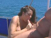 Peter and Jewel's Hot Boat Sex with Huge Facial Finale