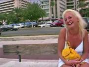 Blonde Mallorca Schlampe