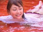 SUGIHARA Anri in the pool
