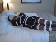 Maid Sybil tied and helpless