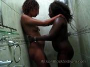 2 African sistas Aisha and Lisha go wild