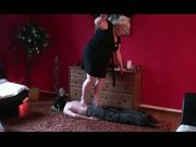 BBW trampling and facesitting trailer
