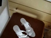My girlfriend's high heels