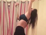 My sub wife pole dancing