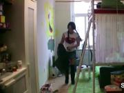 German Hot Mom Seduce To Fuck by Step-Son when home alone