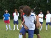 sexual harassment to girl playing soccer