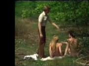 vintage russian girl fucked in the woods
