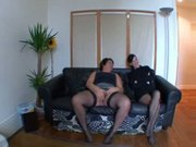 Sabrina, french BBW fucked and fisted in a Threesomes