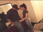 Jasmine Byrne & Mr. Marcus in hotel