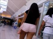booty shorts walking
