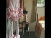 Sissy anal training stool