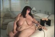 SSBBW Brie Brown rides Sybian