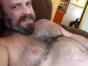 bear jacking off