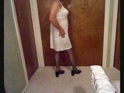 Kathleen's Pretty White Slip