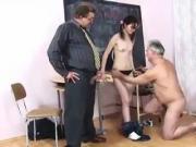 STP3 Truculent Schoolgirl Enjoys Her Double Punishment !