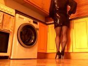 Tv in panties and heels 2