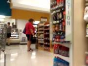 BBW Fat ass in Store