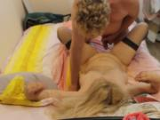 Tania Blonde Russian MILF Spinster being used.
