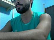 straight guys feet on webcam 45