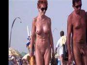 French nudist beach Cap d'Agde people walking nude 07