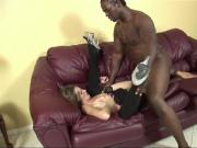 BrokenTeens Aspen Blue Does Her Best to Please a BBC