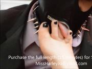 Mr. Fetish Pays Miss Harley Jo A Visit Clip