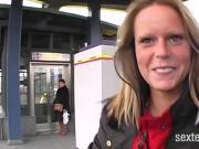 Streetcasting - Cindy das lecker Anal Pflaeumchen