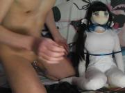 Fucking Himogami Hestia Inflatable Love Doll Usahane Air