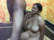 Indian webcam Threesome series - Blowjob version