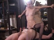 Pussy licking and hard teasing Handjob