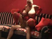 Emilia Boshe red lingerie