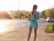 Jeny Smith salad transparent dress