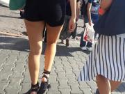 Turkish Young girl shorts and ass