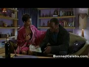 Nia Long Shows Some Cleavage