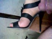 Cum my high heels sandals