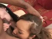 Asian Babes Sodomized By This Hung Black Dude D90