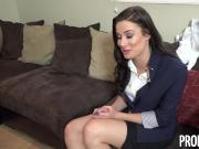 PropertySex - Busty realtor gets naughty for her Xmas bonus