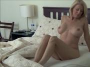 Blonde MILF Morning Stretch
