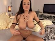Famous Brunette Porn Star Toys On Cam
