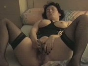 mature brunette Solo Masturbation