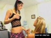 Young Teen Lesbians Pussyeating and Finger Fucking Hot