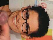 Nelly Furtado-cum on Glasses
