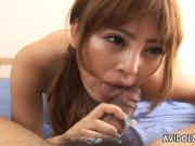 Asian bitch titty fucking fingering and eventually fucked
