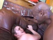 Jodi fucked by 2 black cocks