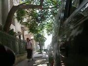 FLASHING & MASTURBATING IN THE STREET