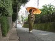 Kimono Girl Scene