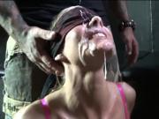 horny wife takes facials