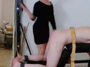 My ex slave spanking for an unallowed orgasm