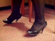 Black Pump Shoe Play