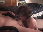 MILF SHOWS THE PROPER WAY TO BE A SUBMISSIVE COCKSLAVE